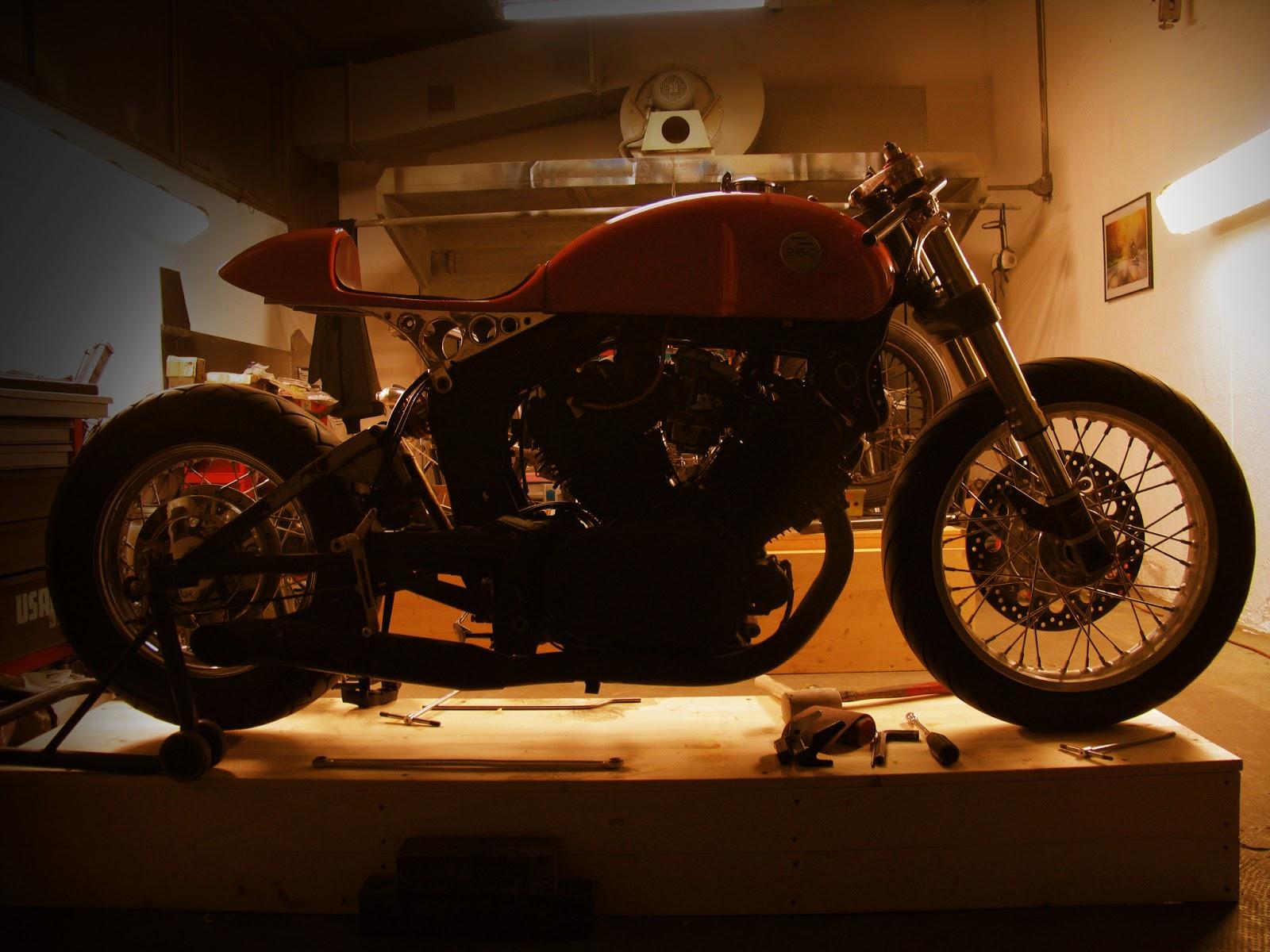 1982 Yamaha XV750 by Plan B Motorcycles :: via Inazuma Cafe