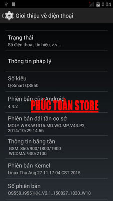 Rom Qsmart QS550 4.4.2 alt