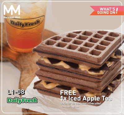 Daily Fresh Sweet Corn & Warm Waffles Free Iced Lemon Tea