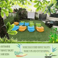 Backyard Projector rental dubai by techonrent.com