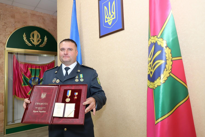 Президент України присвоїв звання Героя України прикордоннику Едуарду Атрашкевичу