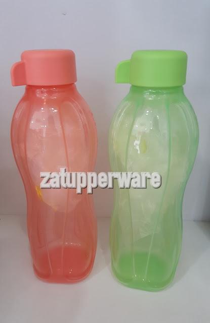 Tupperware Eco Bottle (2) 500ml (Guava & Green)