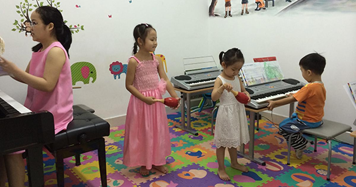 giáo dục âm nhạc trong nuôi dạy trẻ mầm non