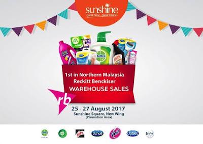 Reckitt Benckiser (RB) Malaysia Warehouse Sale