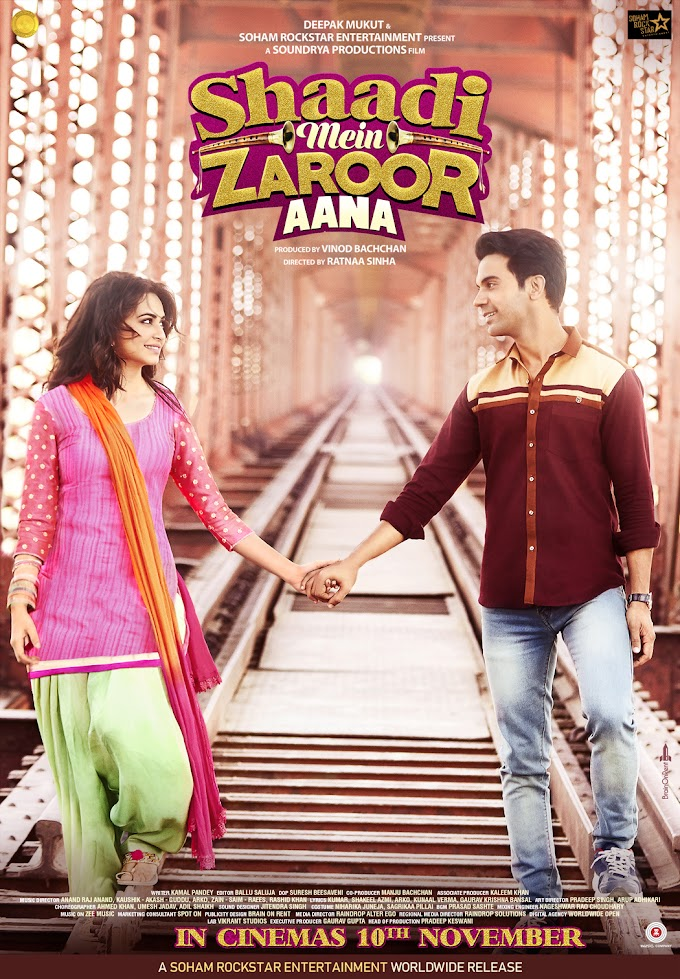 Shaadi Mein Zaroor Aana Full Movie Online Watch 480p, 720p For Free - Filmywap