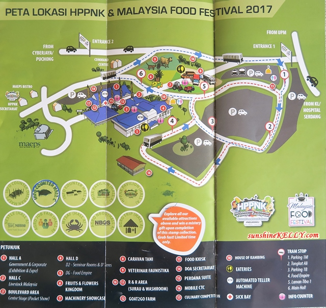 HPPNK 2017 Hari Peladang & Malaysia Food Festival at MAEPS, Serdang Highlights, Visitors Guides and Experiences