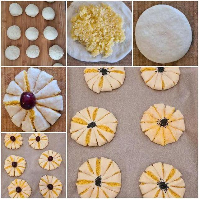 Phần nhân bánh mì nhân sữa dừa