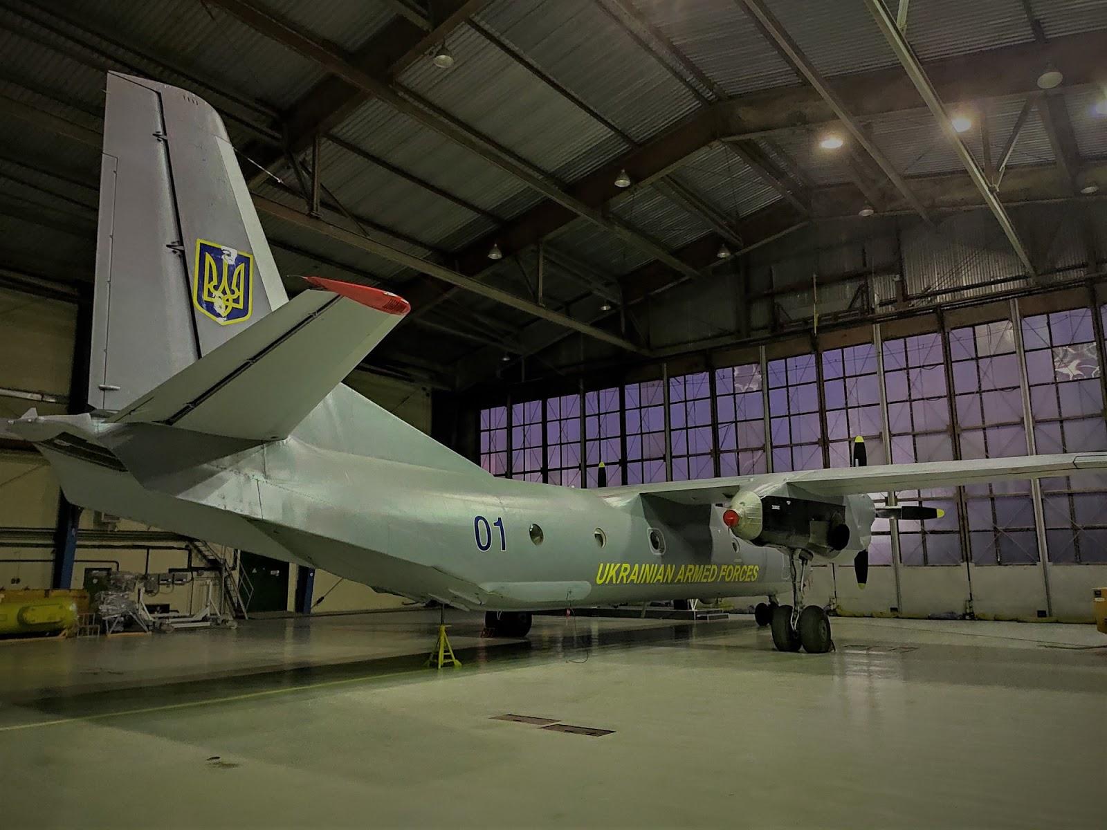 Повітряні Сили отримали черговий модернізований Ан-26