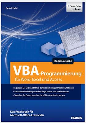 VBA-Programmierung fur Word, Excel und Access