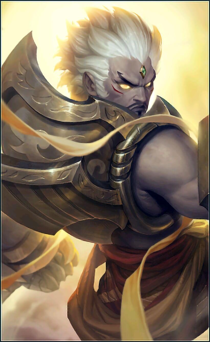 Wallpaper Gatotkaca Arhat King Skin Mobile Legends HD for Mobile