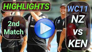 NZ vs KEN 2nd Match