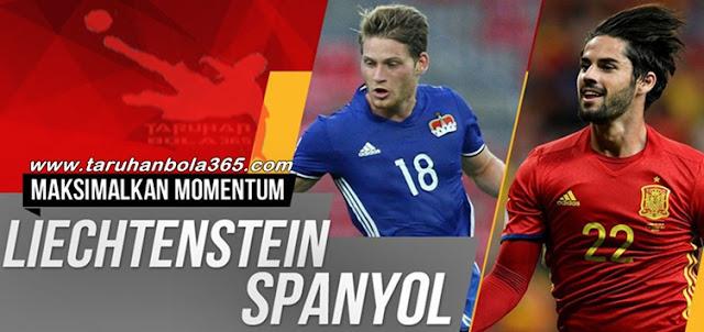 Prediksi Taruhan Bola 365 - Liechtenstein vs Spanyol 6 September 2017