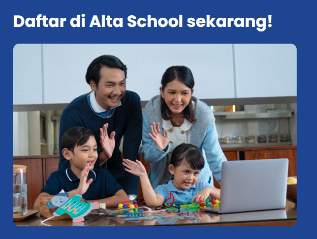blended learning Alta school