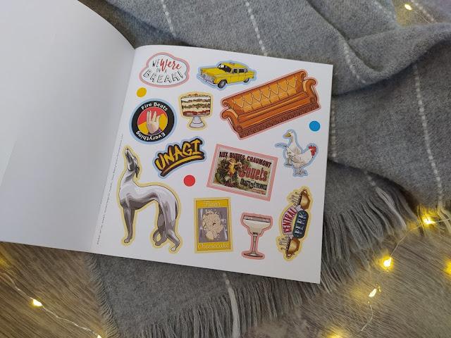 F.R.I.E.N.D.S Stickers & Coloring Books