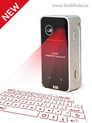 Wireless Laser Keyboard [Bluetooth]