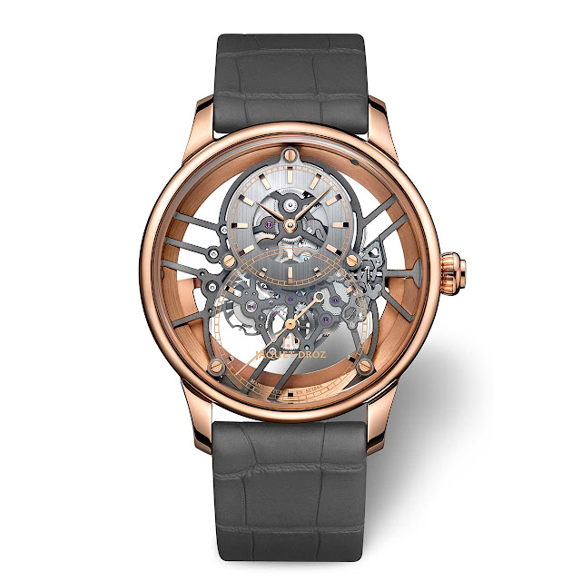 Jaquet Grande Seconde Skelet-One Red Gold ref. J003523241