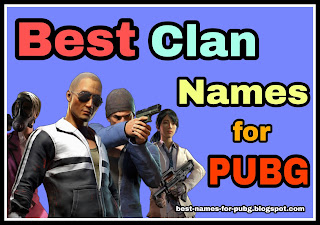 clan name for pubg