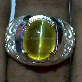 Cincin Batu Opal Cat Eye - ZP 1044