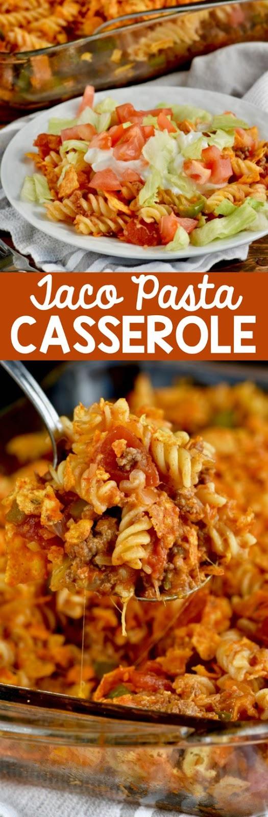 Pasta Taco Casserole