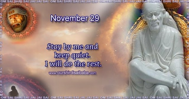 My Sai Blessings - Daily Blessing Messages-Shirdi Sai Baba Today Message 29-11-19