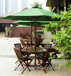 Jual Meja Payung Cafe dan Restoran Harga Murah