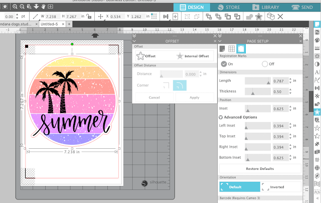 waterslide decal, cameo 4, print and cut, silhouette cameo print and cut, silhouette project