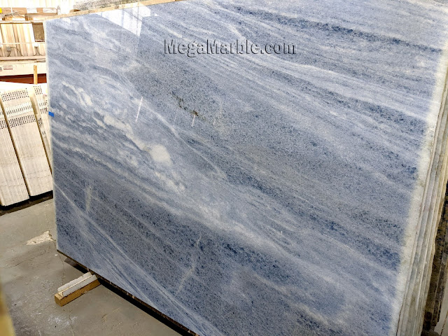 Azul Onda Marina Marble Slab