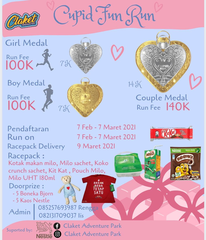 Cupid Fun Run • 2021