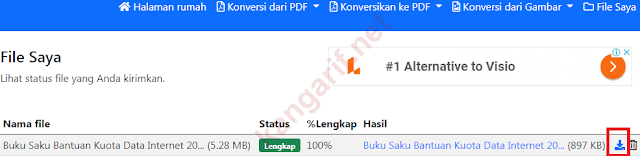 klik icon download