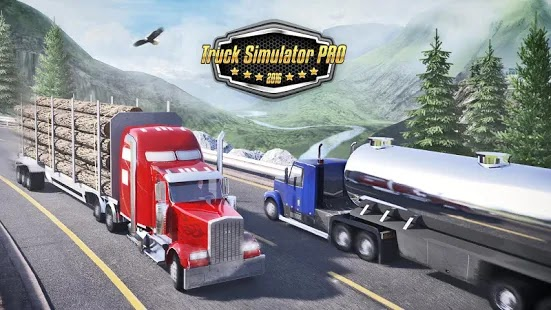 Truck Simulator PRO 2016 Apk+Data Free on Android Game Download