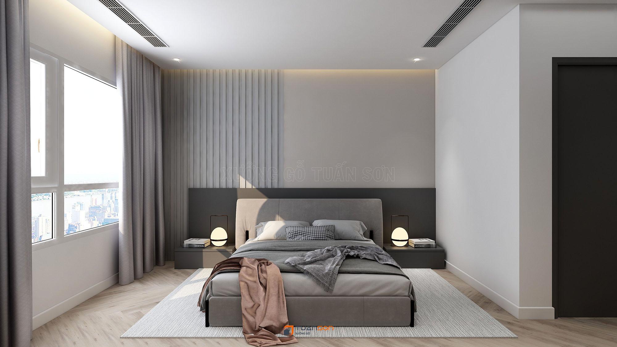Thiết kế nội thất căn hộ 2PN The Tera An Hưng Tố Hữu