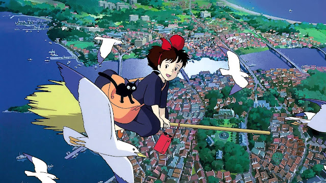 Película Nicky, la aprendiz de bruja de Studio Ghibli, dirigida en 1989 por Hayao Miyazaki