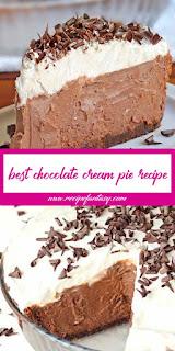 Best Chocolate Cream Pie Recipe