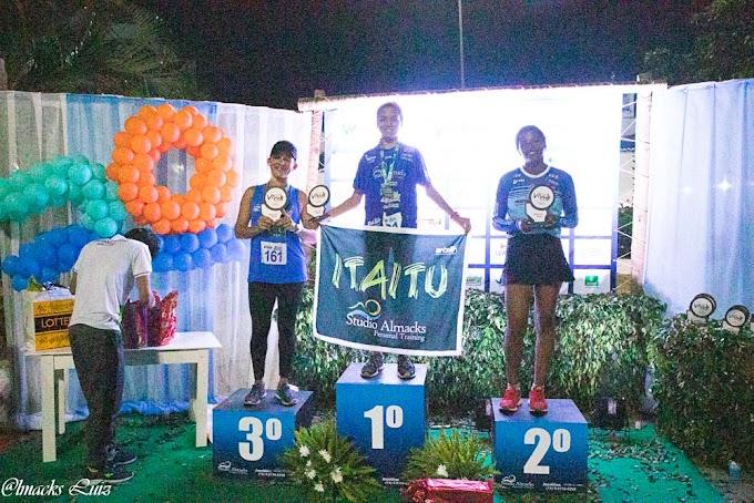Wevellyn e João de Lima são campeões da 1ª Corrida Viva Itaitu em Jacobina