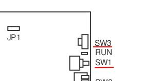 SW1 RUN SW3 PN-CP24