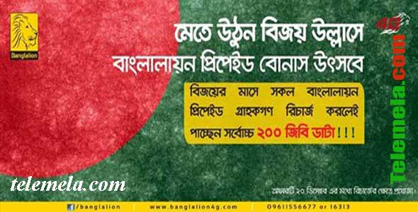 Banglalion WiMAX Prepaid Victory offer