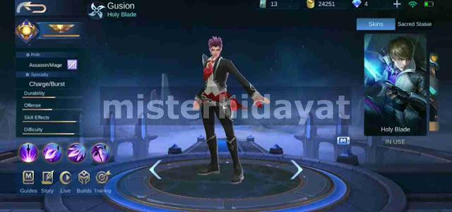 Beberapa hari yang lalu mobile legends mengeluarkan skin edisi Valentine untuk hero Gusion Download Script Skin Valentine Gusion Mobile Legends