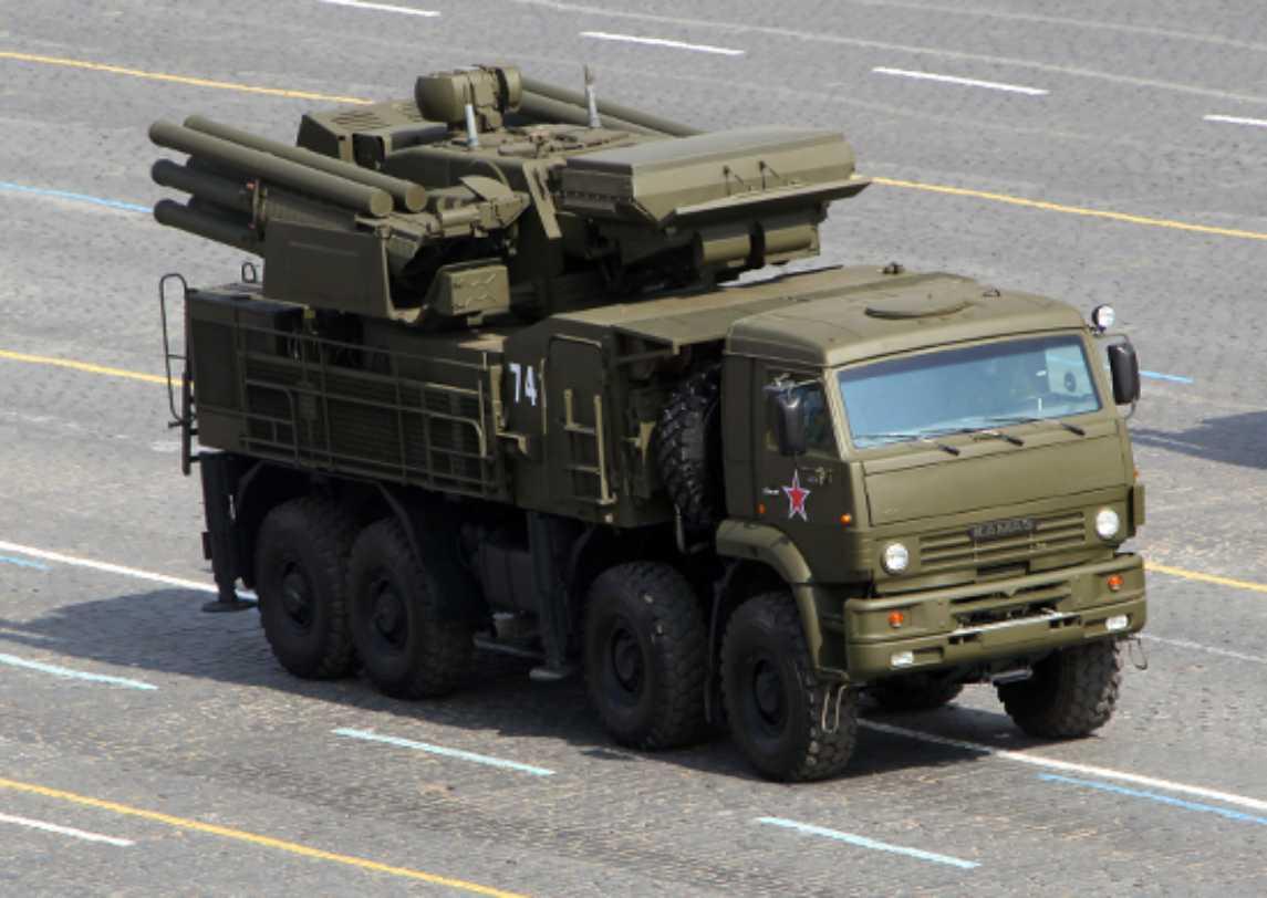 Pantsir-S1 dari Armada Baltik akan melakukan penembakan di kisaran Ashuluk