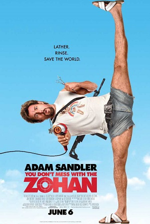 You Don't Mess with the Zohan (2008) Download Hindi Dual Audio Movie 720p Bluray 850MB thumbnail