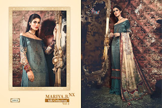 Shree Fab Maria B Silk Vol 2  Satin Pakistani Suits Collection