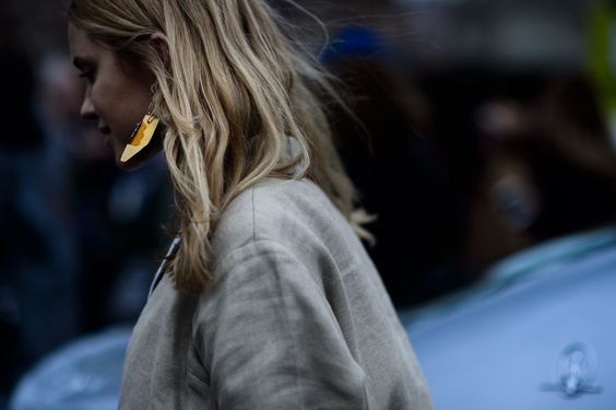 W Magazine LFW Street Style - Pernille Teisbaek
