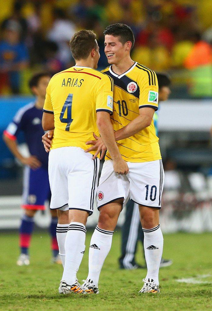 futbolistas colombianos tocandosen