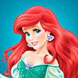 Invitacion de Cumpleaños de Ariel Sirenita Princesas Disney