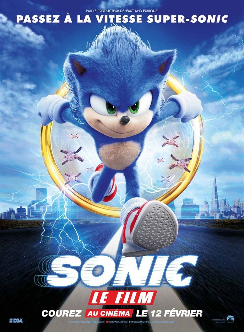 Sonic le film [HDCAM] [Streaming] [Telecharger]