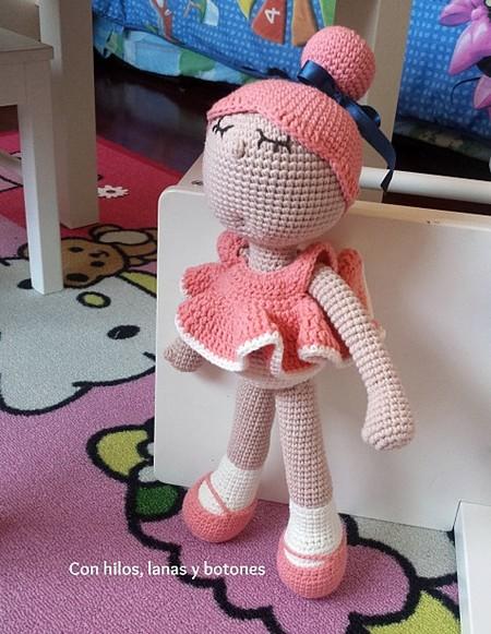 Con hilos, lanas y botones: Miss Pinky