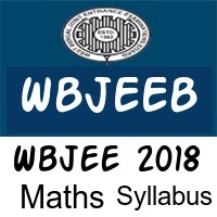 Wbjee 2018 Mathematics syllabus