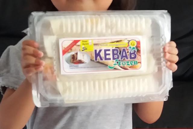 Jual kebab frozen