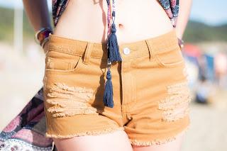 Look estival été, bohème à la plage avec Jennifer