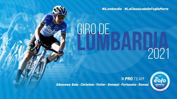 El Eolo - Kometa participará en el Giro de Lombardía