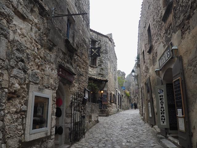 Улицы Ле-Бо-де-Прованс, Франция